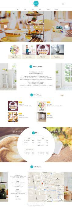 Website design inspiration for a location based business. Website Design Layout, Homepage Design, Web Ui Design, Web Layout, Layout Design, Simple Web Design, Simple Designs, Site Vitrine, Simple Website