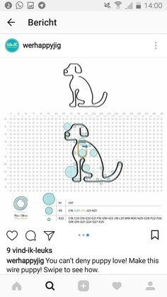 We r memory keepers happy jig pattern Dog