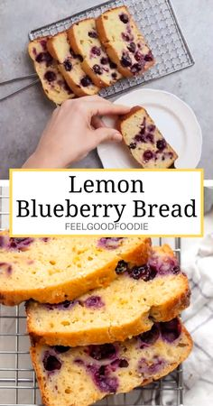 Mexican Dessert Recipes Discover Lemon Blueberry Bread Welcome spring with this fresh and light Lemon Blueberry Bread. Its easy to make with simple ingredients and comes out moist fluffy & packed with flavor Easy Desserts, Healthy Dessert Recipes, Healthy Sweets, Healthy Baking, Tasty Food Recipes, Simple Healthy Recipes, French Dessert Recipes, Dinner Recipes, Loaf Recipes