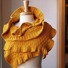 I think I'll try this one - after I finish the 2 shawls I'm already working on...