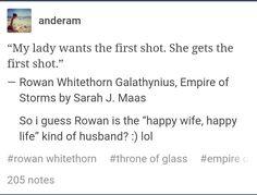 Um, when your wife is freaking Aelin Ashryver Galathynius? heck ya, you wanna keep her happy