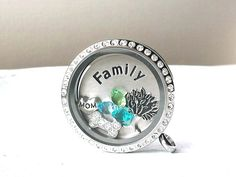Perfect Gift! floating charms, memory lockets, stamped jewelry. www.shopstonebridge.com
