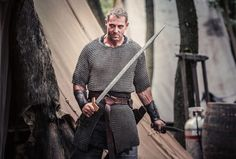 The Last Kingdom – Steapa - movie actors pictures The Last Kingdom Series, Uhtred Of Bebbanburg, Vikings Show, Bbc Two, Fantasy City, Actor Picture, Magic Kingdom, Favorite Tv Shows, Actors