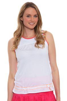 6918a16f27a Cinch Sleeveless Tennis Top. Tennis TopsLucky In Love