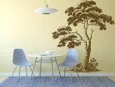 Wall Decal Sticker Bedroom Tree Branches krone Beautiful Decor Kitchen Decor 333b