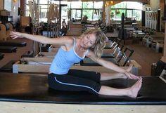 pilates exercise - saw