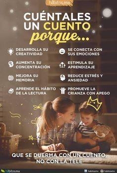 CUÉNTALES UN #CUENTO PORQUE tus #hijos Telo agradecerán. #niñosfuertes y #sanos