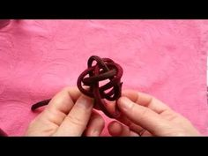 How to tie ABOK #792 (a double footrope knot) - YouTube