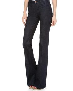 5 Summer Outfits to Wear to Work Every Day This Week - MiH Marrakesh Kick Flare Jeans, $151; at Shopbop