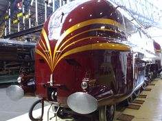 6229 Duchess of Hamilton, Steam Locomotive, National Railway Museum, York. UK