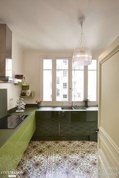 Un appartement revu entre tradition et modernité, Florence Ronsil - Côté Maison