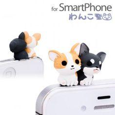 Niconico Nekomura Puppy Plug Earphone Jack Accessory (Chihuahua) #cellphone #smartphone