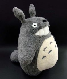 My Neighbor Totoro Sitting Totoro Big Stuffed Studio Ghibli | eBay