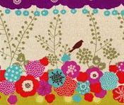 Flap Olive, Echino, Etsuko Furuya, Kokka Designer Fabric