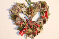 "Herbst-Herz ""Bambi"" von MIA-Floristik auf DaWanda.com"