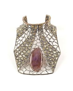 Picture of LACE PECTORAL WITH AGATE