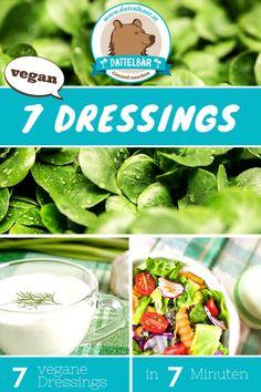 Kennst Du diese 7 veganen Salat-Dressings? - Dattelbär´s Webshop - frische Rohkost Datteln kaufen - gesund naschen