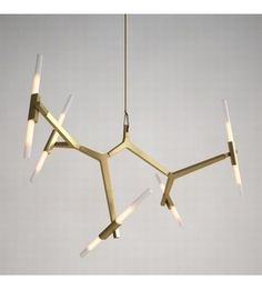 Lindsey Adelman for Roll & Hill Antler Chandelier, Chandelier Pendant Lights, Chandeliers, Hudson Homes, Lighting Design, Contemporary Design, Home Accessories, Bulb, Ceiling Lights