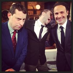 Gimple, Hardwick, and Lincoln // Talking Dead