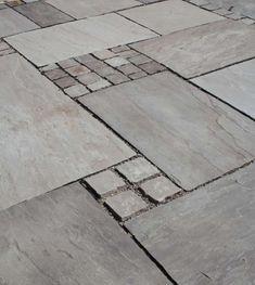 Naturstein, Natursteine Sandstein Verband Platten und Pflaster