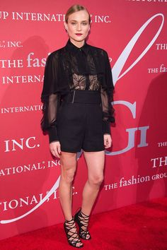 Diane Kruger at the Fashion Group event