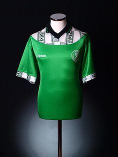 1994-95 Nigeria Home Shirt L Classic Football Shirts, Soccer Jerseys, The Originals, Blouse, Tops, Women, Fashion, Cards, Xmas