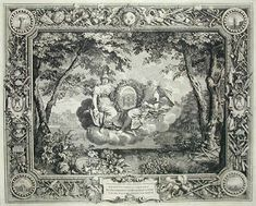 The Seasons: Summer, engraving after Charles LeBrun