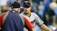 Twins' Andrew Albers comes two outs away from a shutout in MLB debut