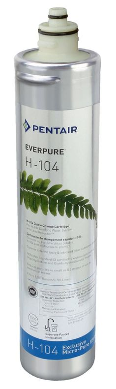 Everpure H-104 Water Filter Replacement Cartridge (EV9612-11)