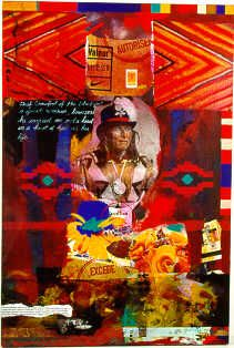 Jane Ash Poitras (Cree) continues to inspire and amaze. Native American Paintings, Native American Artists, Native American Fashion, Modern Indian Art, Aboriginal Artists, Indigenous Art, First Nations, Photomontage, Nativity