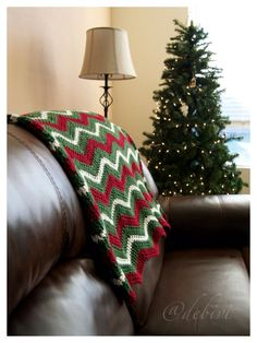 2015 Distinctive Christmas Crochet Blankets - Fashion Blog