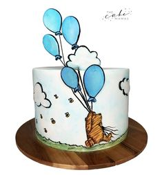 Winnie the pooh storybook cake. Call or email to order your celebration cake today. Click the link below for more information. Disney Themed Cakes, Cakes Today, Celebration Cakes, Disney Inspired, Custom Cakes, Amazing Cakes, Winnie The Pooh, Fondant, Cake Decorating