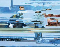 ERRATA NO. 325, acryl, oil on canvas, 75 x 95cm, 2012,  BUY IT HERE: http://www.almondarte.com/products/view/10033