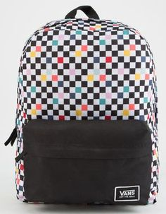 2475dceb978 VANS Party Checker Realm Classic Backpack Vans Backpack