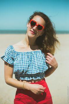 Olivia Poncelet Photography Blog Sea Summer Style Fashion Vintage Pin Up Brigitte Bardot