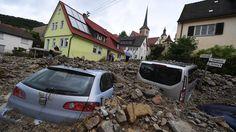 Nach dem Unwetter kommen die Gaffer: Braunsbach klagt über Katastrophentouristen