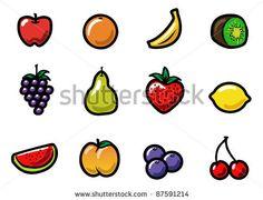 cartoon fruit image - Google Search