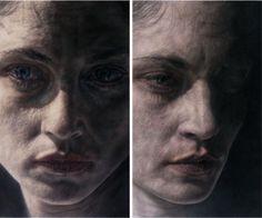 Vania Comoretti, art, portraits, illustration