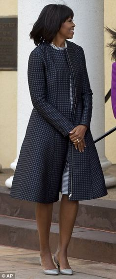 Elegant First Lady for Barack Obama's second inauguration
