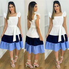 Modest Dresses, Pretty Dresses, Beautiful Dresses, Casual Dresses, Girls Fashion Clothes, Girl Fashion, Fashion Dresses, Clothes For Women, Casual Frocks