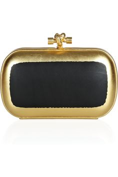 Bottega Veneta | The Knot hand-painted waxed leather clutch | NET-A-PORTER.COM