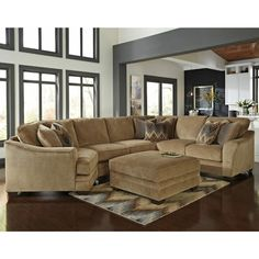 Ashley Furniture Lonsdale Sectional in Barley