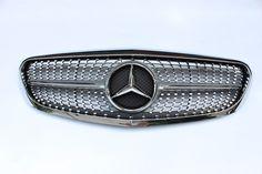 C Class W205 Diamonds Style  Grille(Chrome)