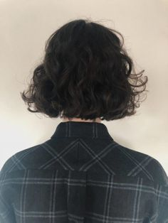 Bob Hairstyles For Fine Hair, Curly Bob Hairstyles, Pretty Hairstyles, Shot Hair Styles, Curly Hair Styles, Natural Hair Styles, Cut My Hair, Hair Cuts, Mode Ulzzang