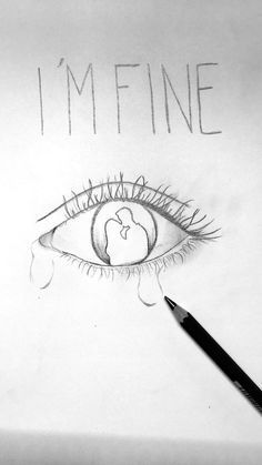 image result for crying closed eyes drawing artsy fartsy