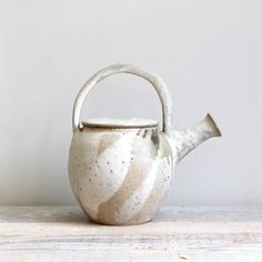 Vintage Ceramic Studio Pottery Teapot