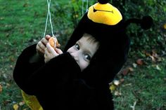 The first time my oldest son went trick-or-treating, he was dressed up as a bumblebee, but he turned into a monster. Because, paradoxically, inundation always ends with a sense of deprivation… My son was two-years-old when it happened. We dressed him up in a puffy black and yellow costume, and we rang his first Halloween […]