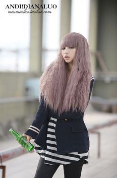 Light purple hair color