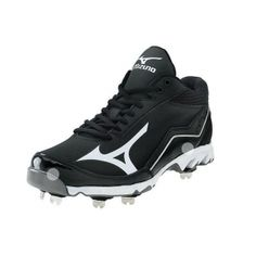 SALE - Mens Mizuno Swagger Baseball Cleats Black - Was $89.99. BUY Now - ONLY $79.99