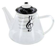 Teekanne I love Music im Used-Look, 26,90 €